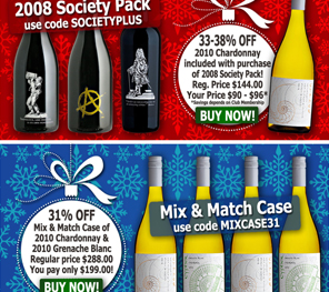 Cypher Winery Holiday Offer