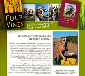 Four Vines Winery Dogs